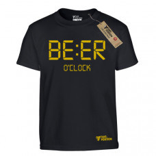 T SHIRT ΠΑΙΔΙΚΟ TAKEPOSITION, ECO SERIES, BEER O'CLOCK, ΜΑΥΡΟ, 801-4004