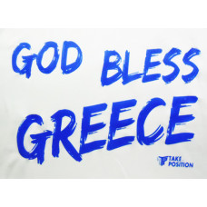 T-shirt reglon Takeposition, Bless Greece, 326-5014