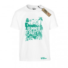 ΠΑΙΔΙΚΟ T-SHIRT, TAKEPOSITION, SUMMER PARTY, ΛΕΥΚΟ, 801-6501